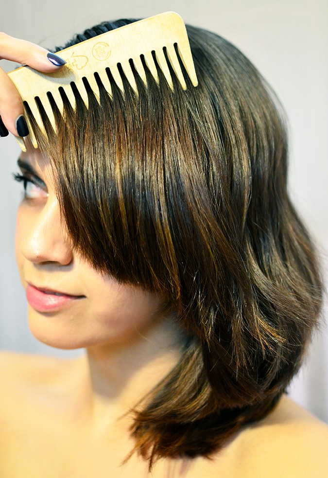 #ProofNotPromises   Pantene   www.akanksharedhu.com   hair closeup comb long