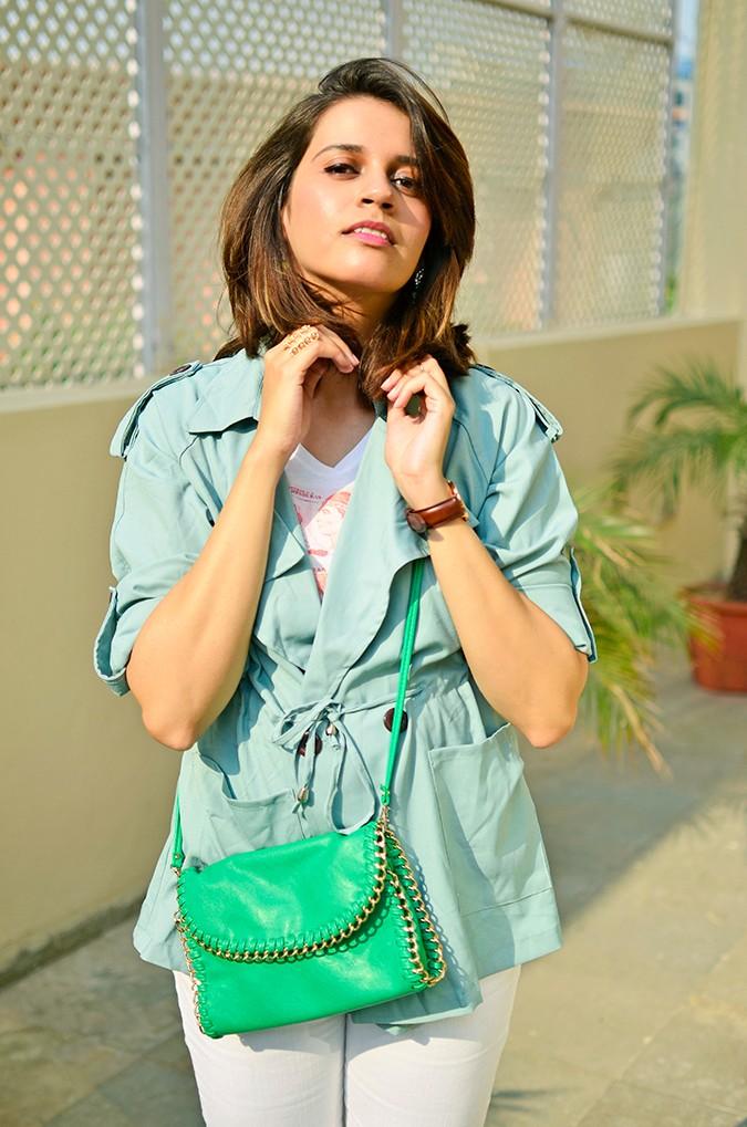 Weekend Getaway | Anya Gurgaon | www.akanksharedhu.com | outfit half front jacket