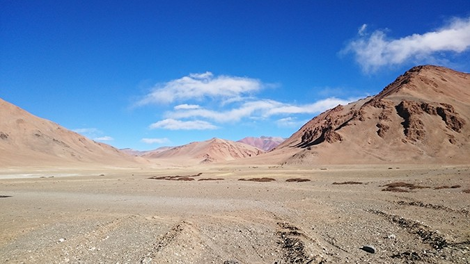 Himalayan Road Trip | Sony Xperia Z3 | driving from pang to sarchu