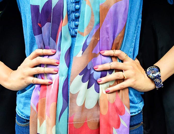 True Blue | www.akanksharedhu.com | hands on waist detail
