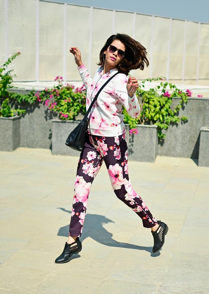 Sunny Winter Florals | Akanksha Redhu | jump jacket