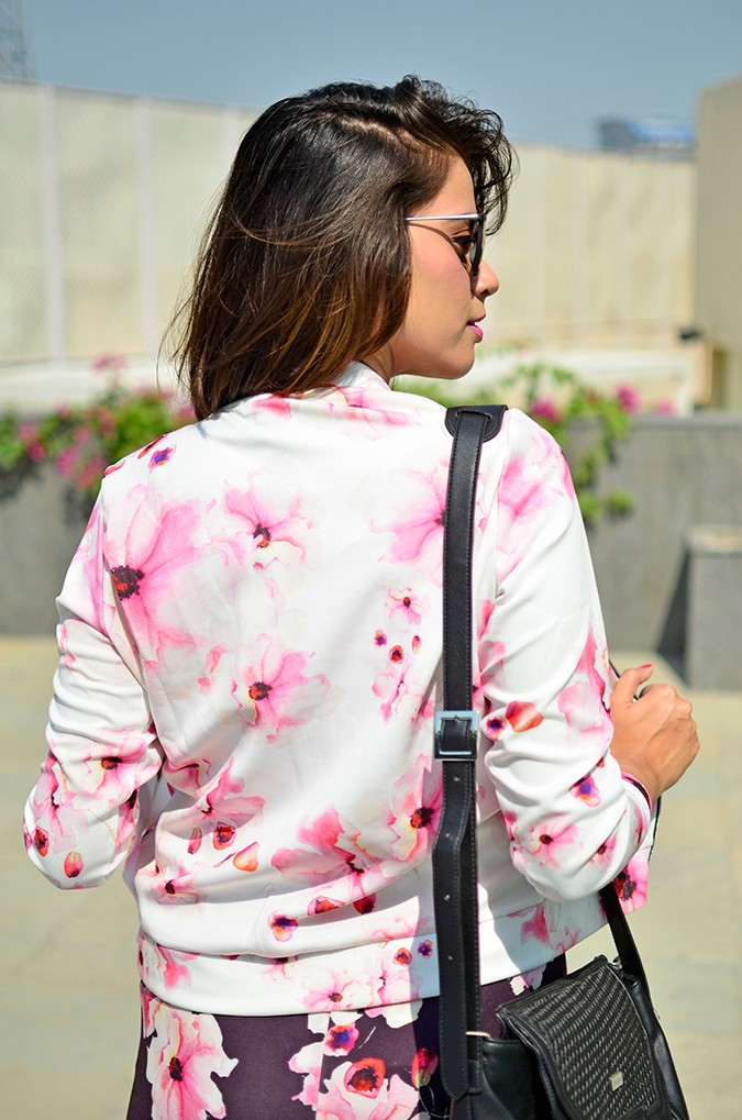 Sunny Winter Florals   Akanksha Redhu   back half jacket