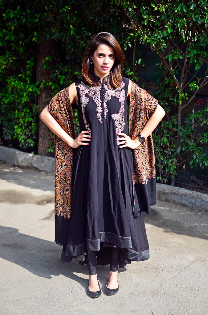 Indianwear | Gaurav Gupta Tribe at Jabong | shawl full front