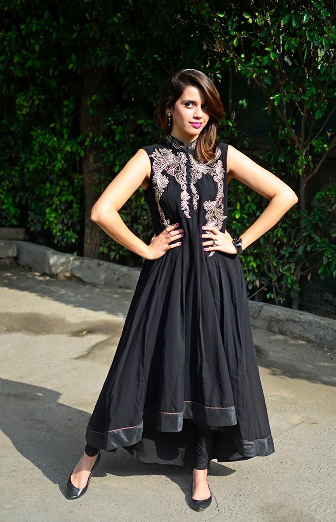 Indianwear | Gaurav Gupta Tribe at Jabong | suit full front