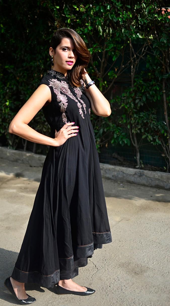Indianwear | Gaurav Gupta Tribe at Jabong | suit full side