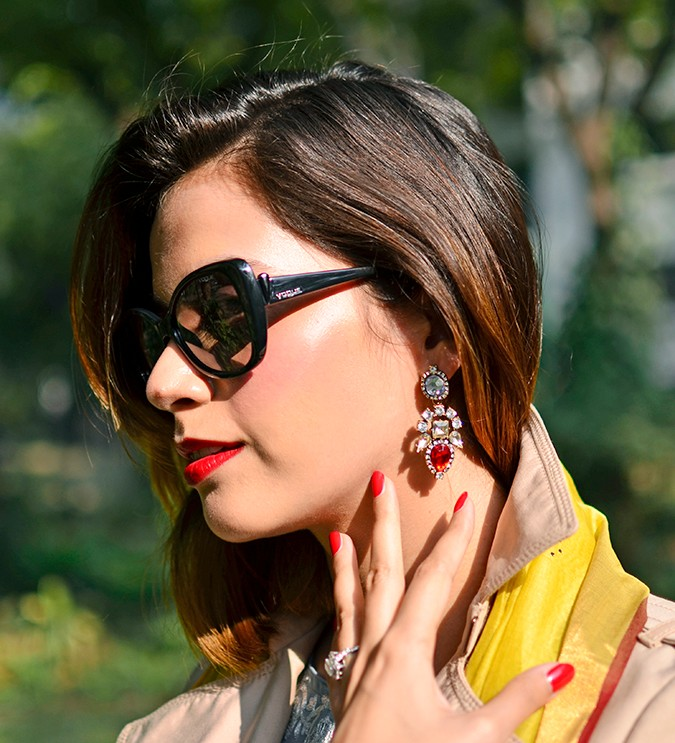 Indo-Western Style | Kokum | Akanksha Redhu | earrings