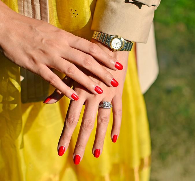 Indo-Western Style | Kokum | Akanksha Redhu | hands details