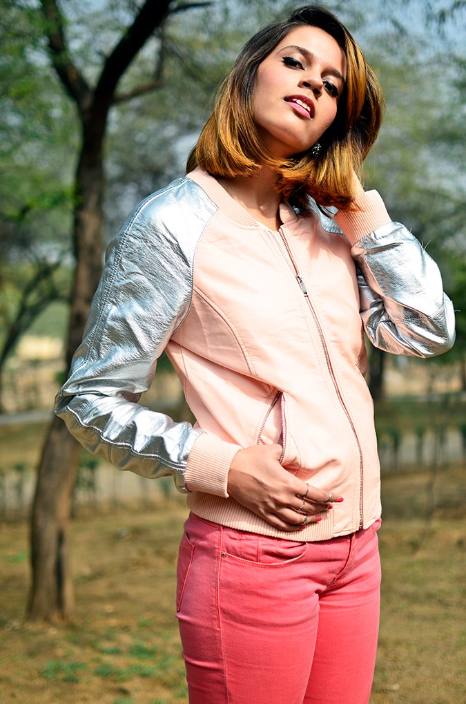 Space Cherry | Akanksha Redhu | front half jacket from below