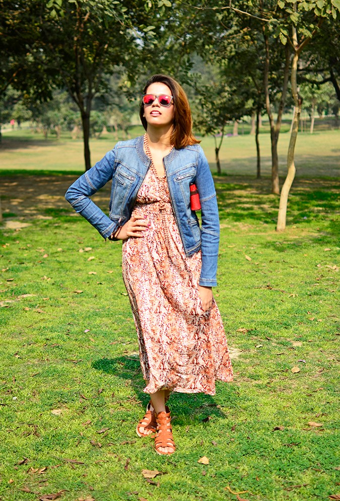 Denim + Animal Print | Akanksha Redhu | Full front