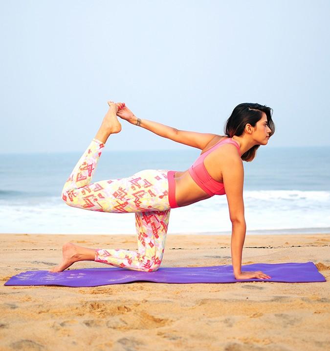 Yoga | Ardha Dhanurasana - Half Bow Pose