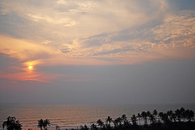 Blanc Frais | Goa | Akanksha Redhu | sunset