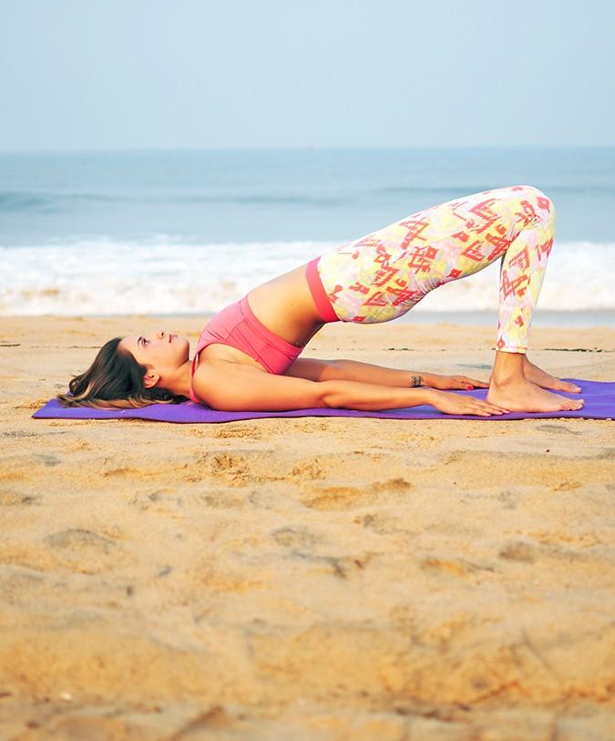 Yoga | Setu Bandha Sarvangasana - Bridge Pose | Akanksha Redhu