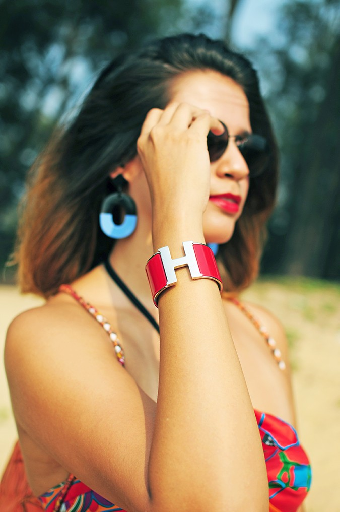 Folklore | Hermes | Akanksha Redhu | bracelet focus face blurred