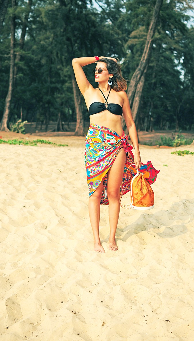 Folklore | Hermes | Akanksha Redhu | full front sarong