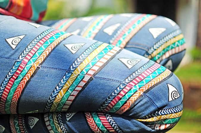 Hand-Painted Goodness | RangRage | Akanksha Redhu | jeans sitting