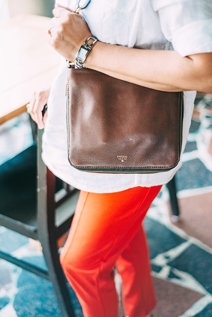 Mother's Day with Fossil | Akanksha Redhu | bag crossbody on mom no face