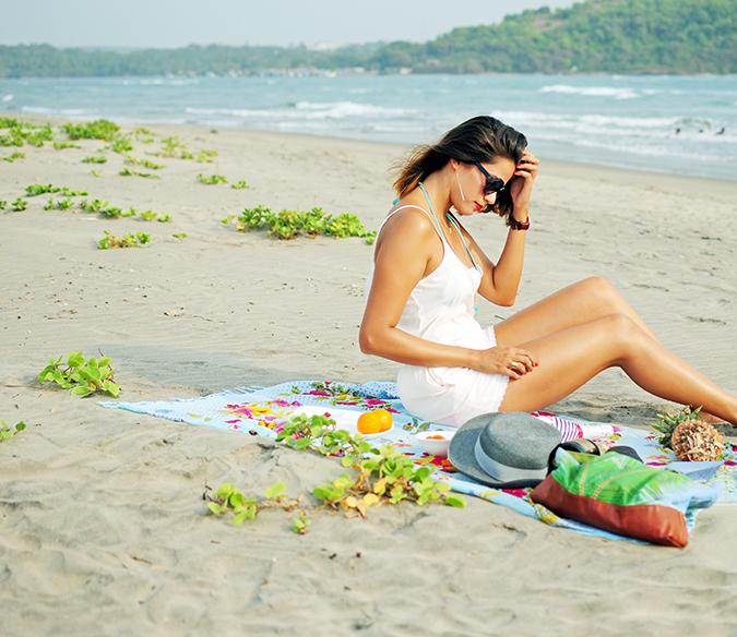 Beach Days   Goa   Akanksha Redhu   sitting far