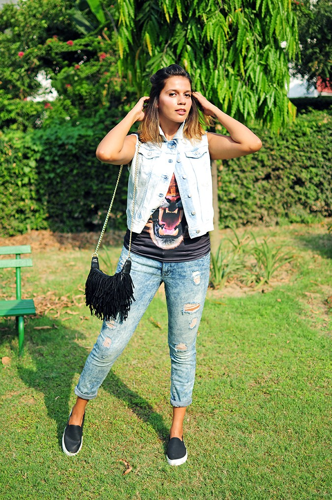 The Roaring Denims | Only India | Akanksha Redhu | full front