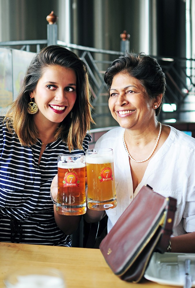 Mother's Day with Fossil | Akanksha Redhu | me and mum doing a cheers
