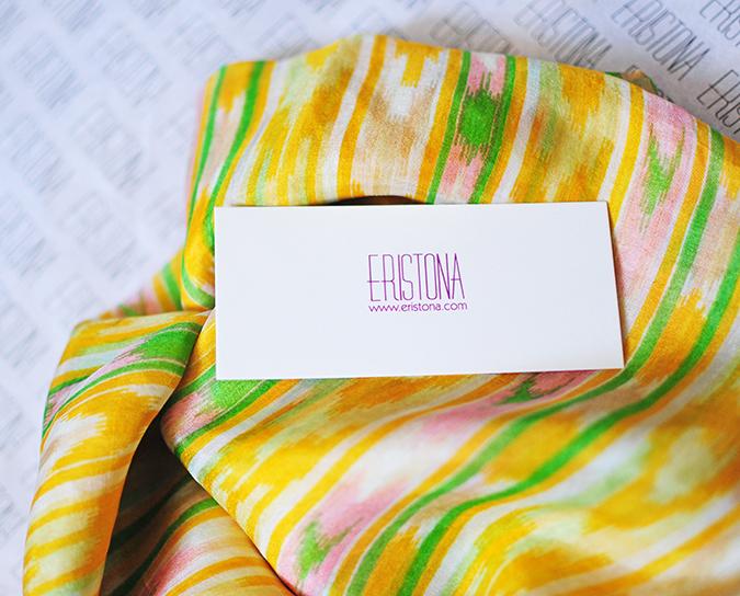 Éclat | Eristona | Akanksha Redhu | scarf branding