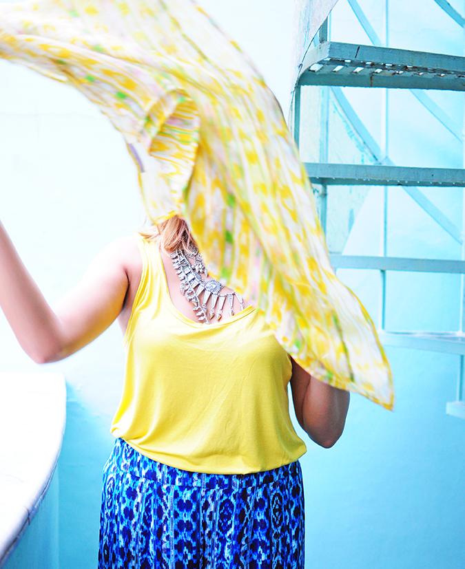 Éclat | Eristona | Akanksha Redhu | scarf flying