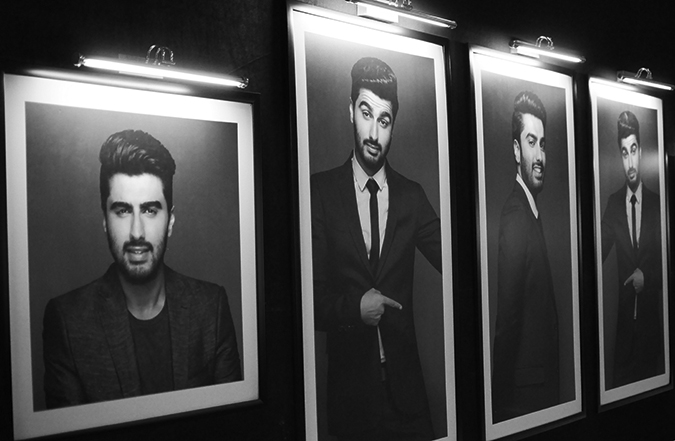 Philips Bodygroomers Launch with Arjun Kapoor | Akanksha Redhu | AK pics on walls
