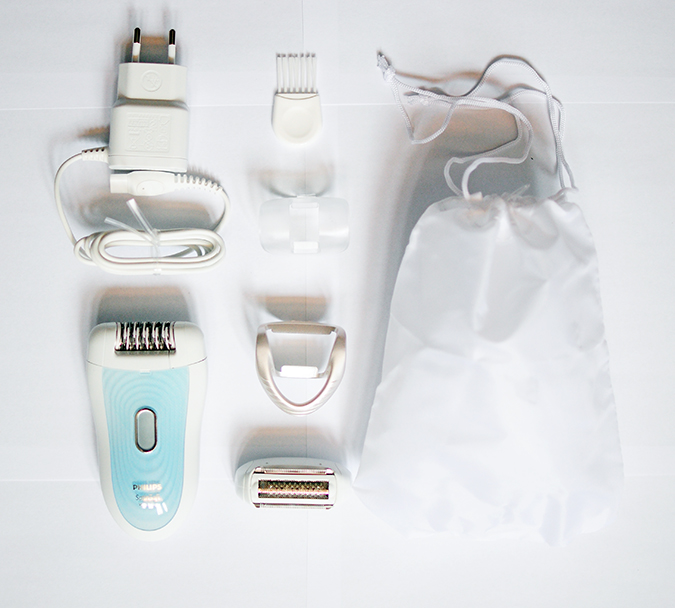 Philips - Satinelle Advanced Epilator | Akanksha Redhu | flatlay