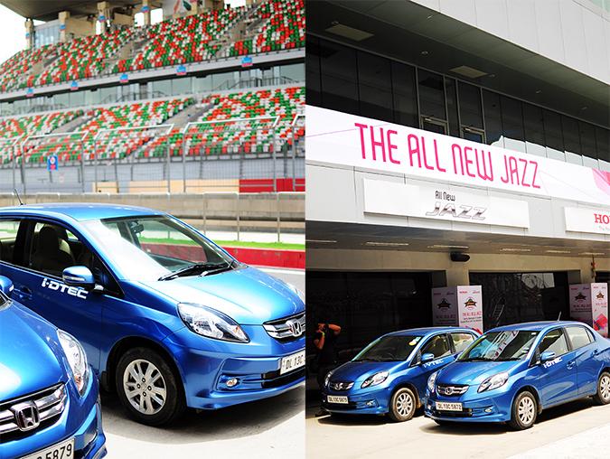 #AllNewJazz | Honda | Akanksha Redhu | blue car combo