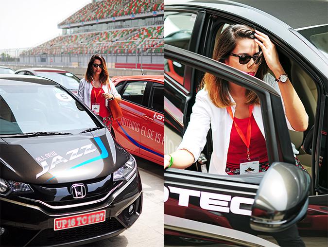 #AllNewJazz | Honda | Akanksha Redhu | with car combo