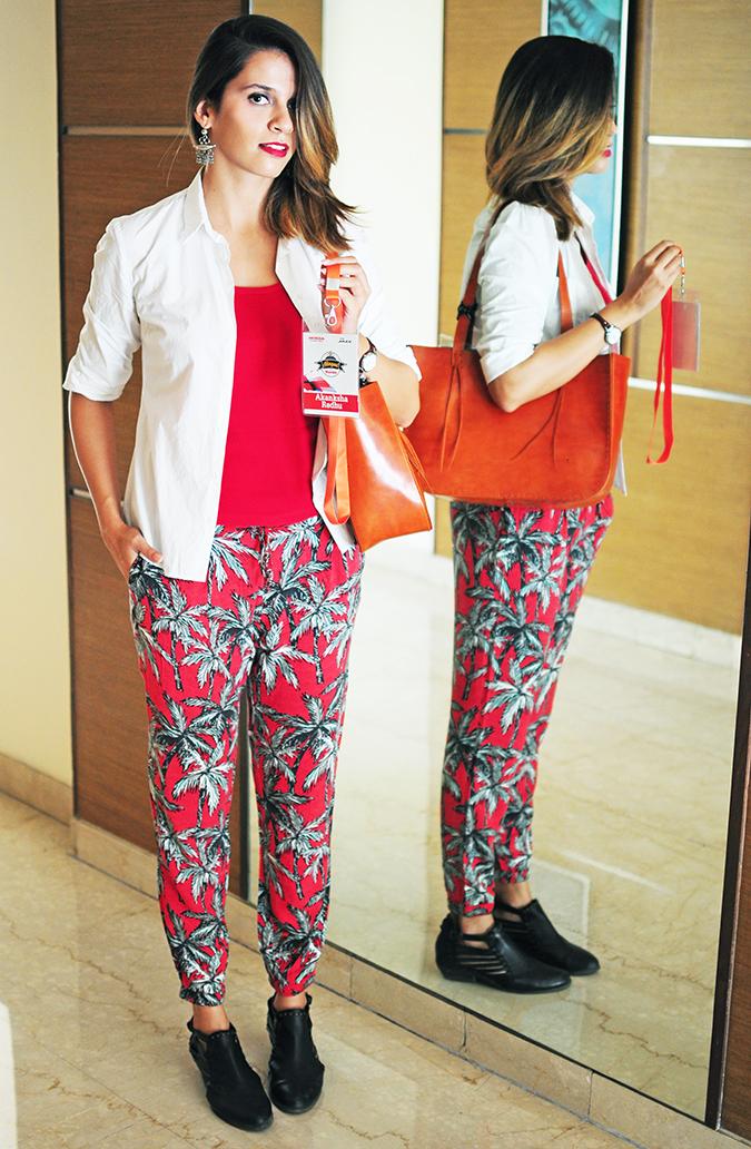 #AllNewJazz | Honda | Akanksha Redhu | outfit mirror full