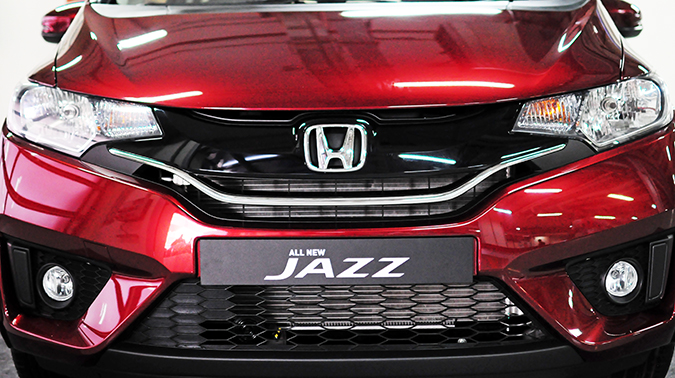 #AllNewJazz | Honda | Akanksha Redhu | front branding wide