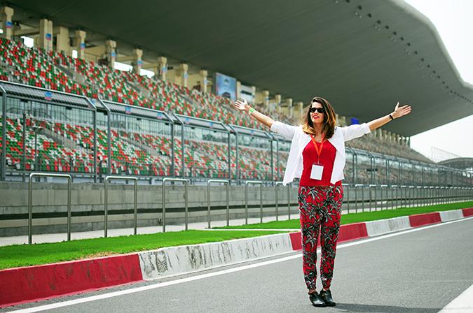 #AllNewJazz | Honda | Akanksha Redhu | arms open on track wide