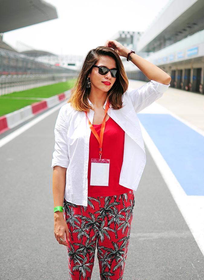 #AllNewJazz | Honda | Akanksha Redhu | outfit on track
