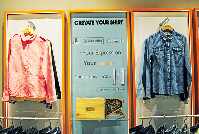 Made - To - Order | Akanksha Redhu | custom shirts on wall