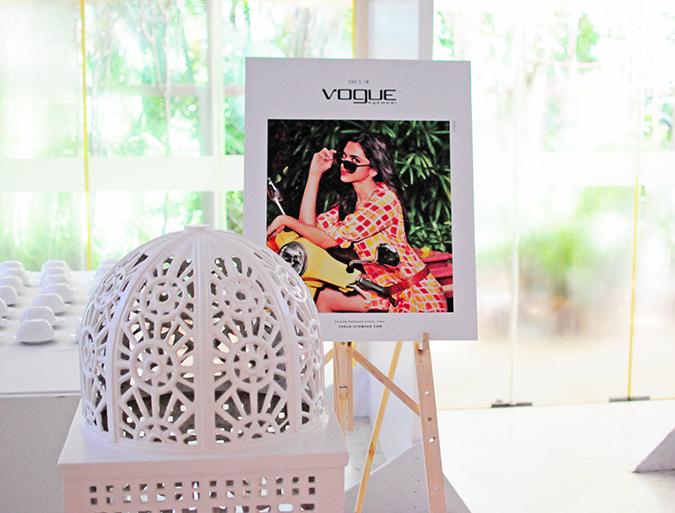 Vogue Eyewear with Deepika Padukone | Akanksha Redhu | branding on stand