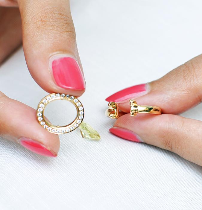 The Palette | Tanishq | Akanksha Redhu | step remove ring