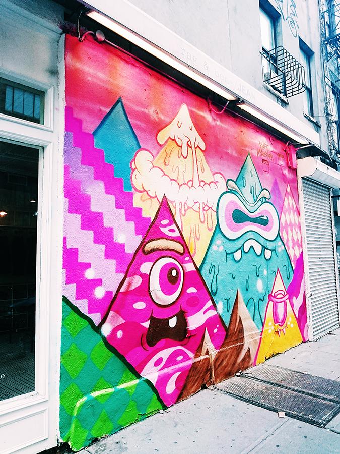New York City | #RedhuxNYC | rag and bone art