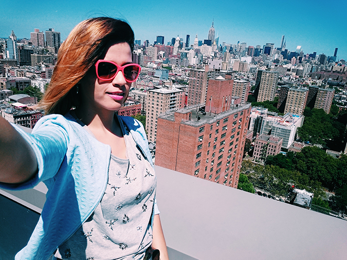 New York City | #RedhuxNYC | selfie
