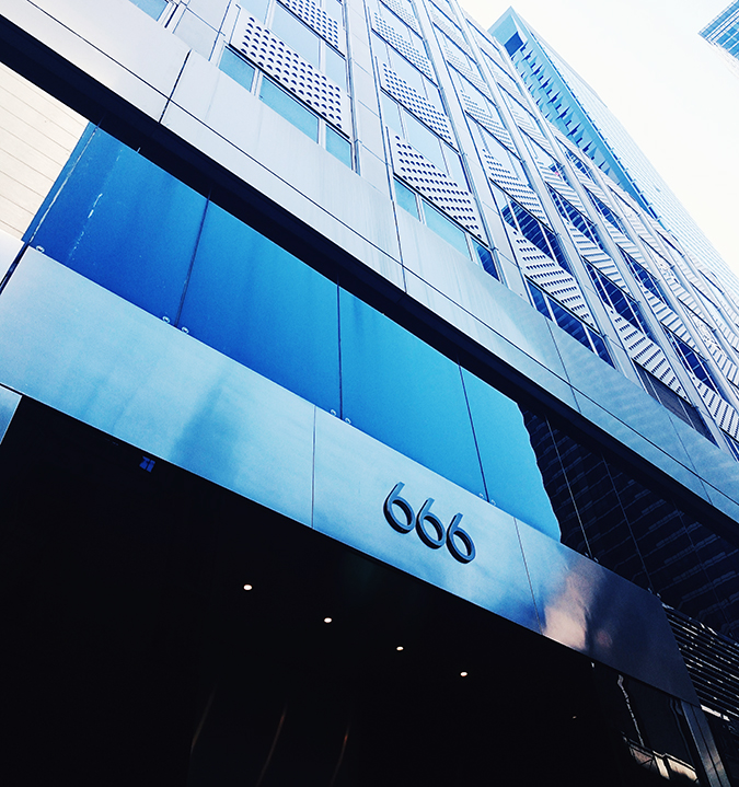 New York City | #RedhuxNYC | 666 building
