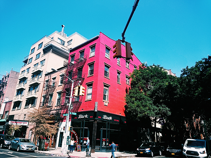 New York City | #RedhuxNYC | bark