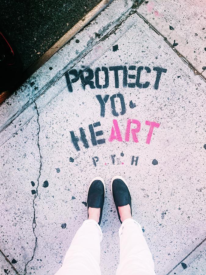 New York City | #RedhuxNYC | protect yo heart