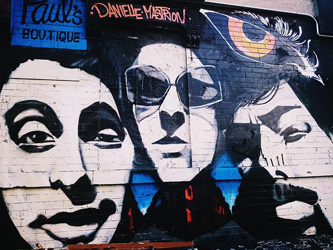 New York City | #RedhuxNYC | franco wall art