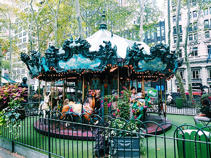 Bryant Park | New York City | #RedhuxNYC | kids area