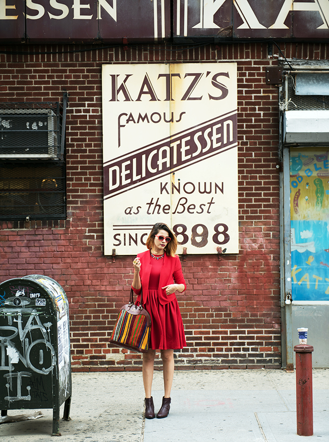 Ludlow Street |New York City | #RedhuxNYC | full front far katz full