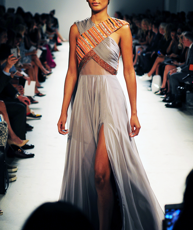 Bibhu Mohapatra | NYFW | Akanksha Redhu | x top gown