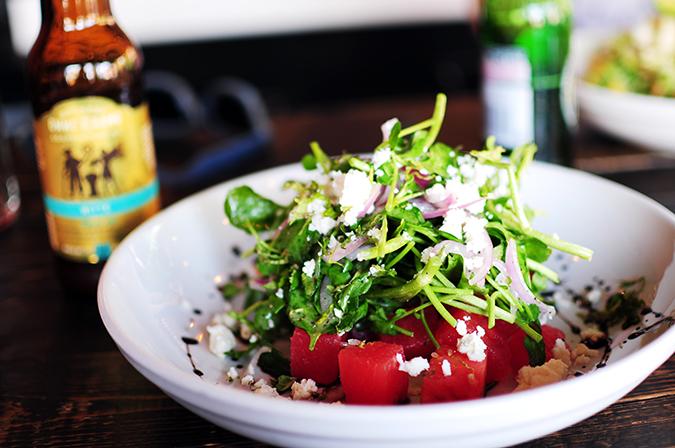 Airbnb | New York City | #RedhuxNYC | mezetto salad