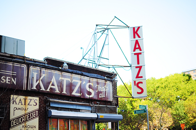 Katz's Delicatessen | #RedhuxNYC | from outside