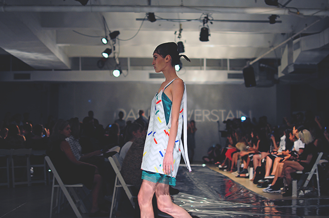 Daniel Silverstain | NYFW | Akanksha Redhu | dashed dress