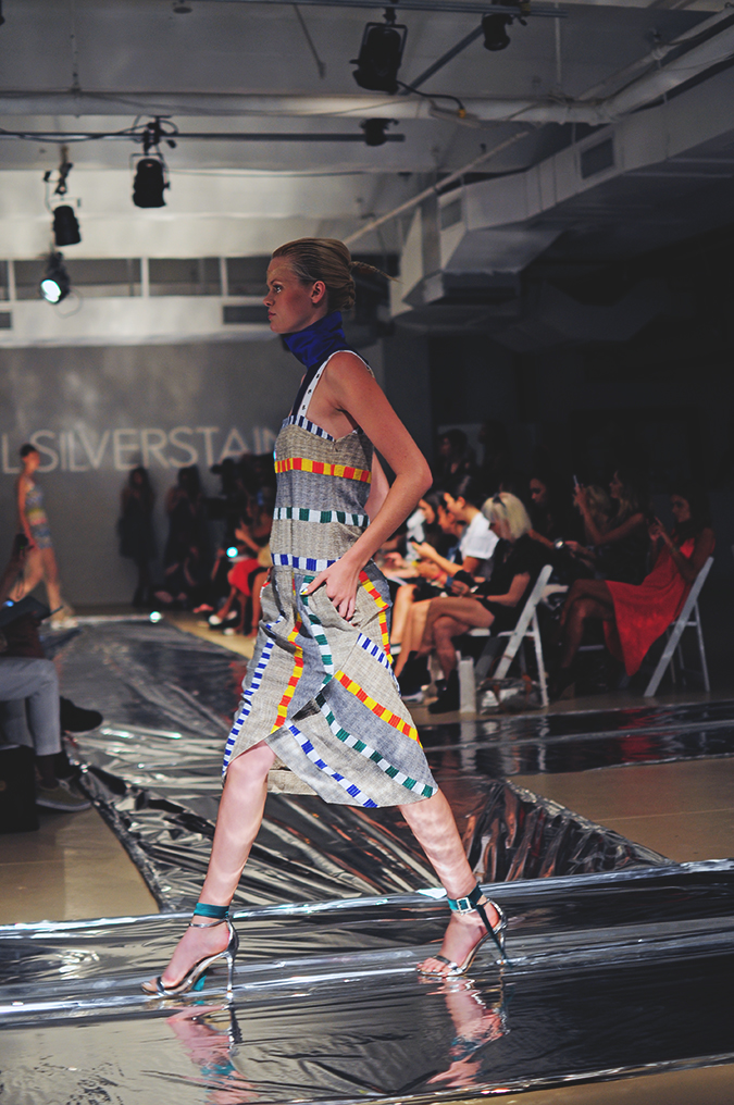 Daniel Silverstain | NYFW | Akanksha Redhu | striped dress