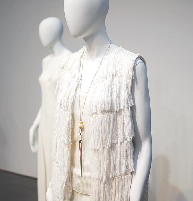 Tess Giberson | NYFW | #RedhuxNYC | fringe coat